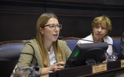 Fernanda Bevilacqua busca que se extiendan los beneficios impositivos en Villarino